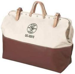 """Klein Tools 24"""" General Purpose Tool Bag, Brown, Tan, 5105-2"""