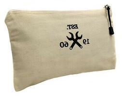 "WESTWARD 32PJ41 Tool Bag, Cotton Canvas, 12-1/8""L x 1/4""W x"