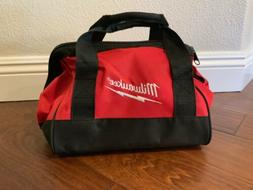 "Genuine MILWAUKEE 11"" x 10"" x 10"" Small Contractors Tool Bag"