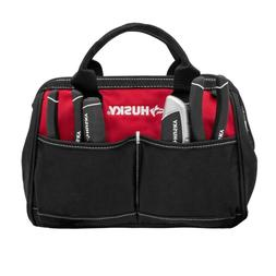 Genuine HUSKY 12 in. x 7 in. Polyester Tool Bag Carrying Ba