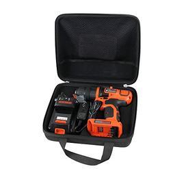 Hermitshell Specially designed case fits Black+Decker LDX120
