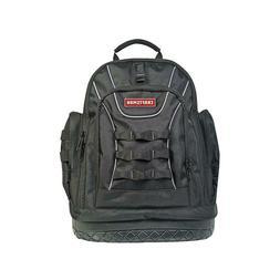 Heavy Duty Back Pack Tool Bag Polyester Black Gray Padded St