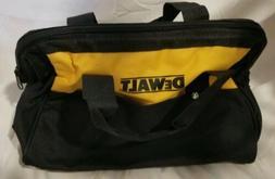 Dewalt Heavy Duty Ballistic Nylon Tool Bag 15 x 11 x 9 w/ Ru