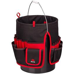 NoCry Heavy Duty Bucket Organizer - with 35 Pockets, 5 Tool