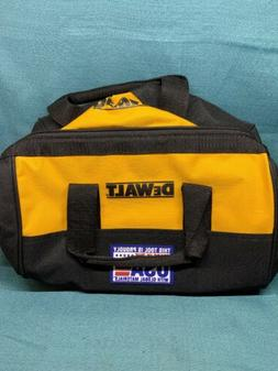 "DeWALT ~ Heavy Duty Canvas Contractor Tool Bag Case 13"" X 10"