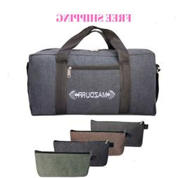 Heavy-Duty Canvas Tool Bag with Bonus 4 Large Tool Zippered