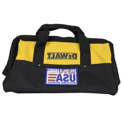 "Dewalt 18"" Heavy Duty Electrical Tool Bag USA New for Drill"