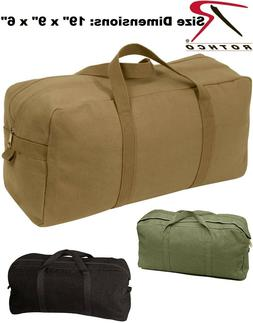 "Jumbo Tanker Mechanics Tool Bag Heavyweight Canvas 19""x9""x6"""