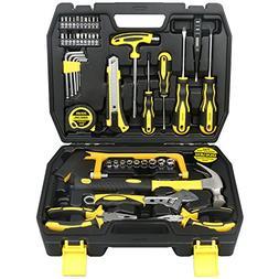 DOWELL 48 PCS Tool Set,Home Repair Hand Tool Kit with Plasti