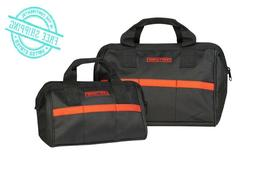 """NEW Craftsman 12"""" inch Reinforced Tool Bag Pouch Carrying St"""