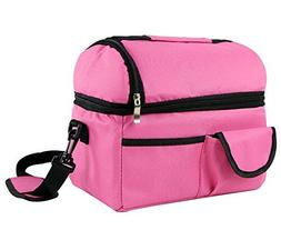 Ecokaki Large Capacity Insulated Cooler Picnic Lunch Bag Dur