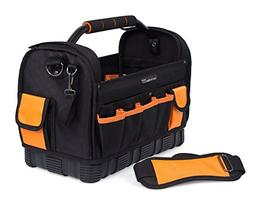 Internet's Best Open Top Tool Bag | Ultra Rigid Frame Tote