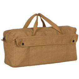 Fox Outdoor Products Jumbo Mechanic's Tool Bag with Brass Zi