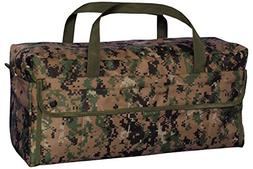 Fox Outdoor Products Jumbo Mechanic's Tool Bag with Brass Zi