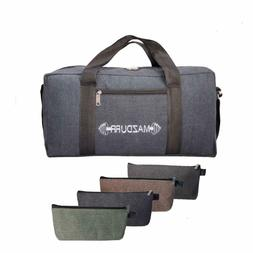 Jumbo Mechanic Canvas Tool Bag Heavy-Duty | Free Bonus: 4 La