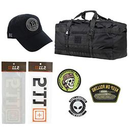 5.11 Kits Rush LBD XRAY Tactical Duffel Bag Backpack, Hat, P