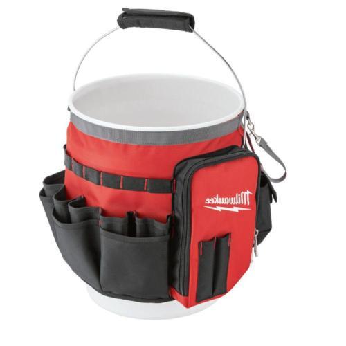 10 in. Bucket Organizer Tool Bag