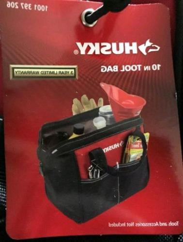 10 inch tool bag 600 denier water
