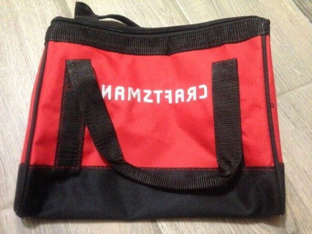 10 inch tool bag storage red