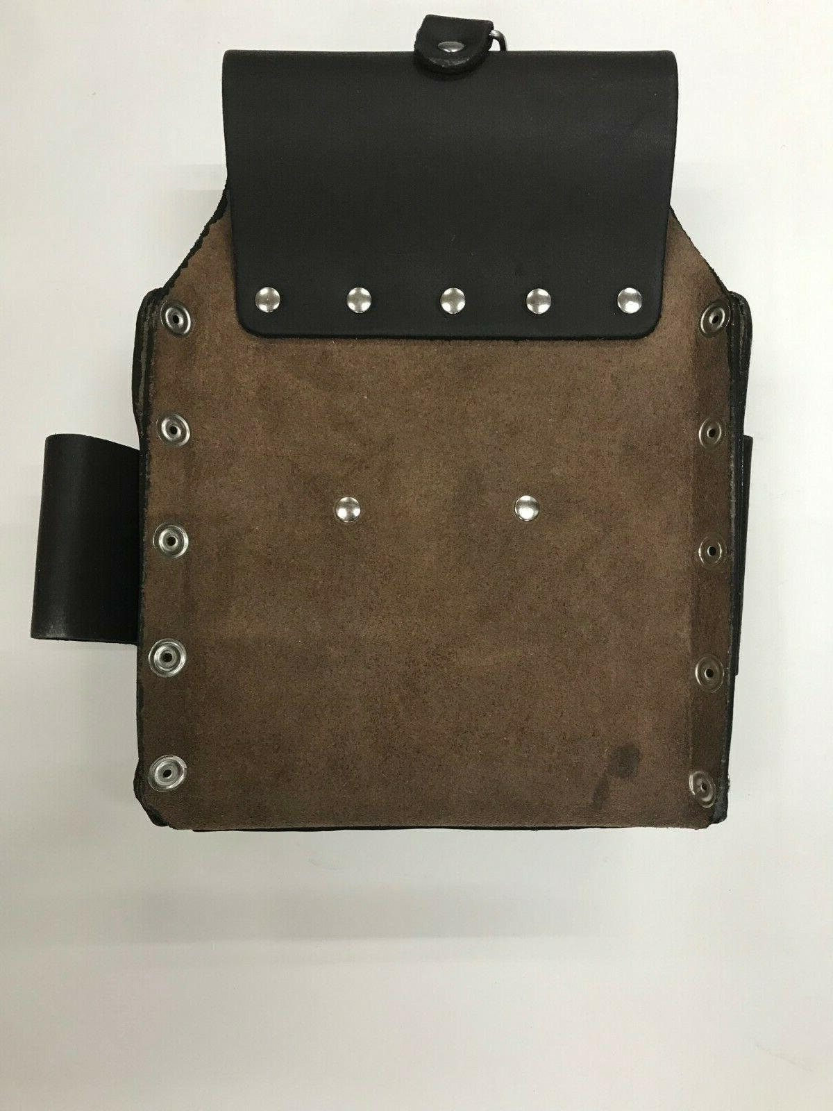 10 Electrician Bag Pouch Tanned Leather Belt