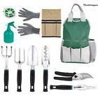 11 Piece Gardening Tool Set Tool Bag Apron 6 Gardening Tools