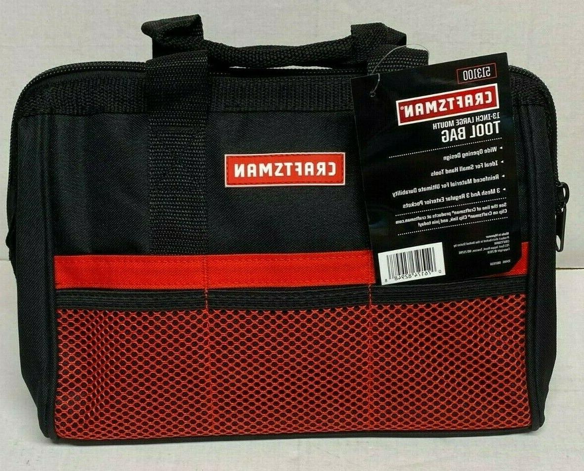 Craftsman 13 937535 Large Mouth Tool Bag Storage Bag Small tools