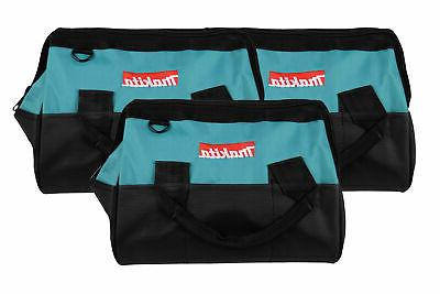 14 inch contractor tool bag with reinforced