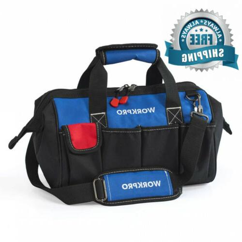 14 inch tool bag multi pocket organizer