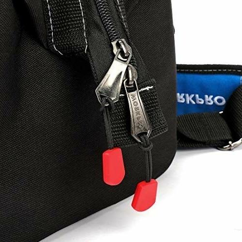WORKPRO Bag, Multi-pocket Organizer Adjustable Shoulder