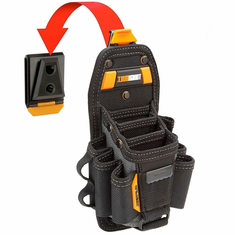 TOUGHBUILT 15 Compartment Technician Tool Bag Pouch Storage