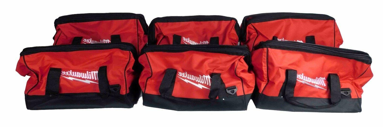 Milwaukee 6-Pocket Heavy Duty Canvas Carrying Tool