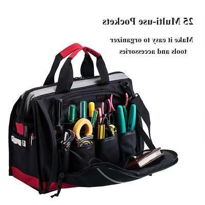 16-inch Tool Bag, Pockets Wide Tools Bag, Bag