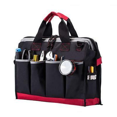 16-inch 25 Pockets Wide Storage Tools Bag