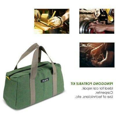 "16"" Oxford Cloth Tool Bag Practical Thick Electrician Bag Ou"
