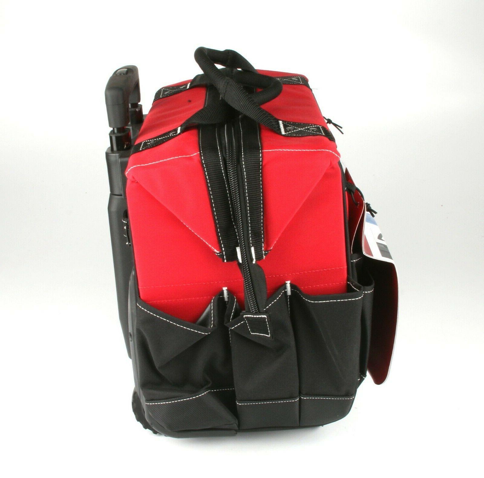*HUSKY 18 in. Rolling Tool Bag w. Telescopic Handle