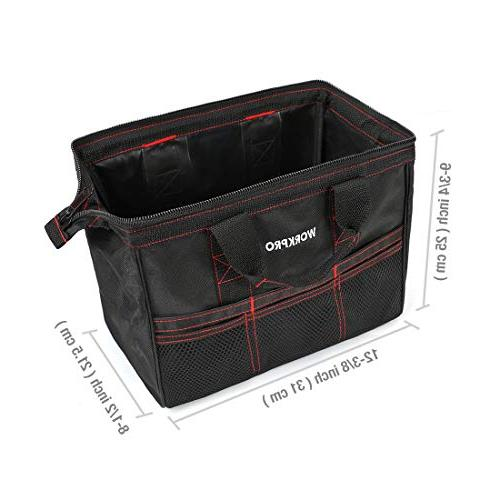 WORKPRO 2-Piece Tool Combo 13-inch Wide Open