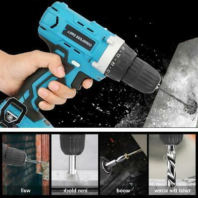 18V Electric Lithium Cordless Drill Handheld Professional With Tool