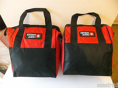 2 PACK Porter Cable Heavy Duty Storage Tool Bag Contractor B