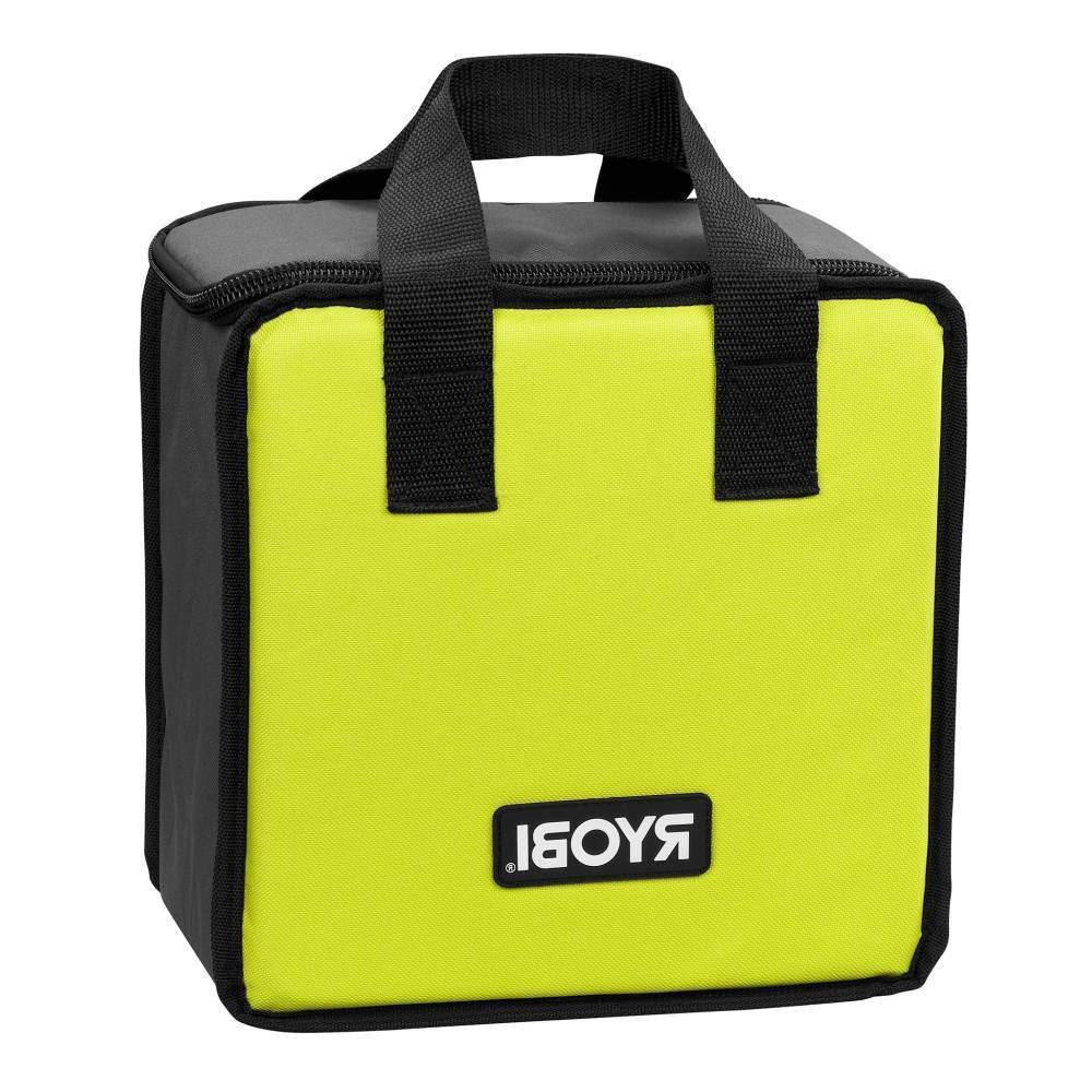 2 PK RYOBI Lime Green Tool Tote Zipper Tool Bag, Fit P239 /P