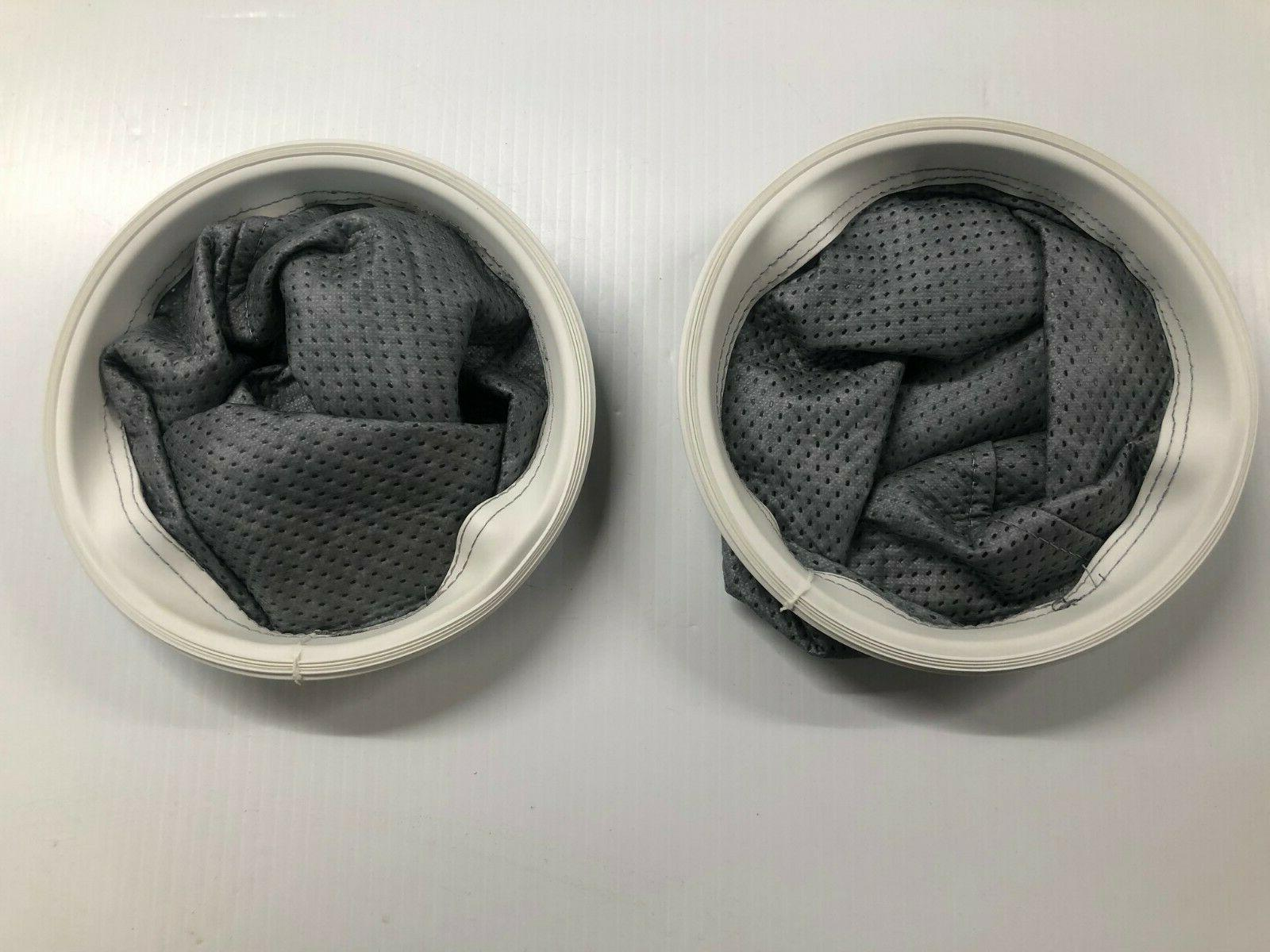 2 Tristar Vacuum Replacement Permanant Cloth Bag Liners. Par