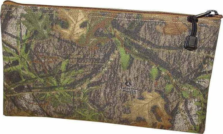 2 pc Mossy Oak K.T. 5139C Cordura Zipper Tool Bag  7 x 11 In