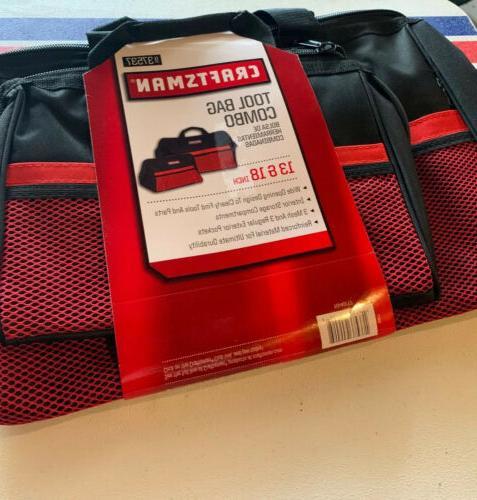 2 tool bag combo 13 inch 18