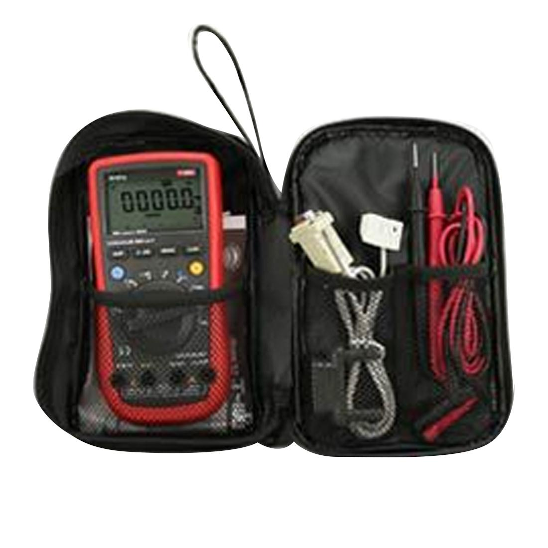 Durable Multimeter Cloth <font><b>Bag</b></font> <font><b>Bag</b></font> Multimeter Black <font><b>Bag</b></font> for Series