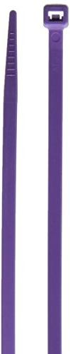 Morris 20619 Nylon Cable Tie with 50-Pound Tensile Strength,