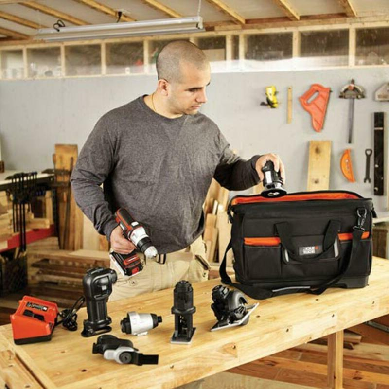 21 in. Wide-Mouth Tool Bag