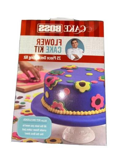 25 pc decorating tool set icing bags