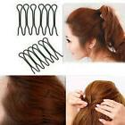 2Bags Women Girl Styling Hair Clip Stick Bun Maker Hair Acce