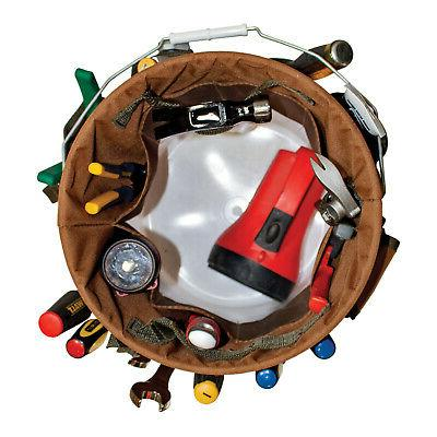 5 gallon Organizer 30 pocket, 3 Loops Work Home