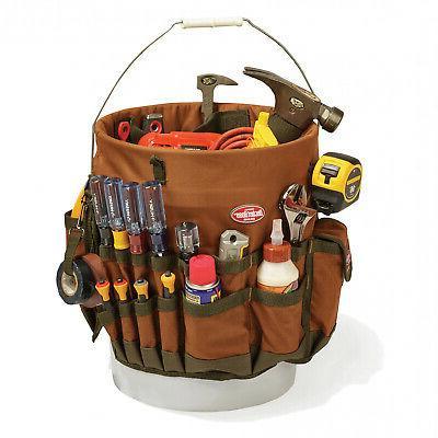 5 gallon Organizer Bag pocket, 3 Loops Storage Work