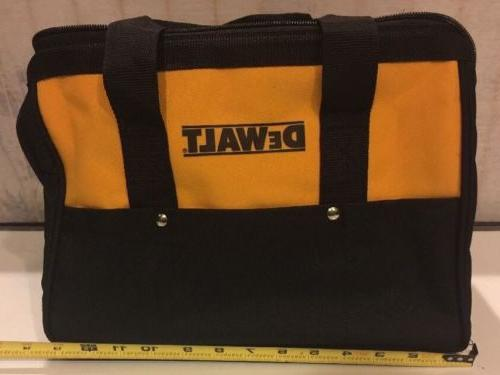 "NEW DEWALT Ballistic Nylon 13"" Tool Bags With 6 Outer Pocke"